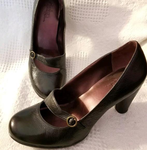 01b84270a8d0 Clarks Shoes | Indigo Mary Jane Retro Pumps 95 M Black | Poshmark